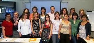 Finalizado el Curso de Hipnosis en la Preparación al Parto Pamplona 2011