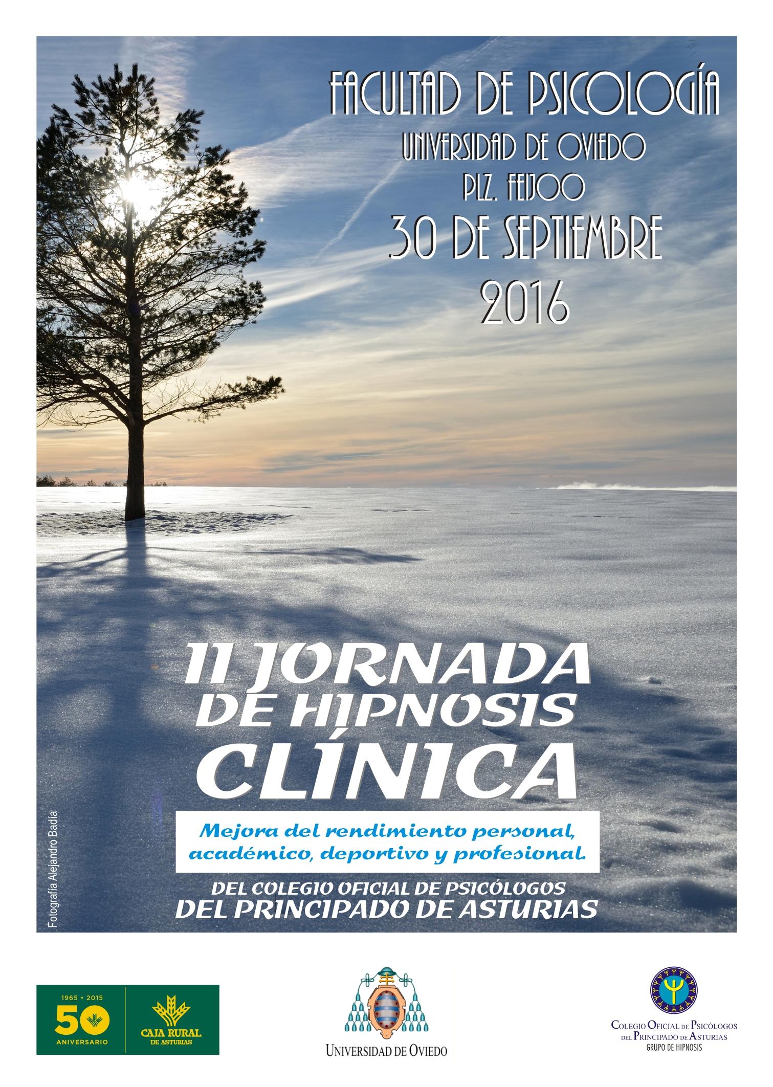 II Jornadas de Hipnosis Clínica Oviedo. Mejora del Rendimiento Deportivo