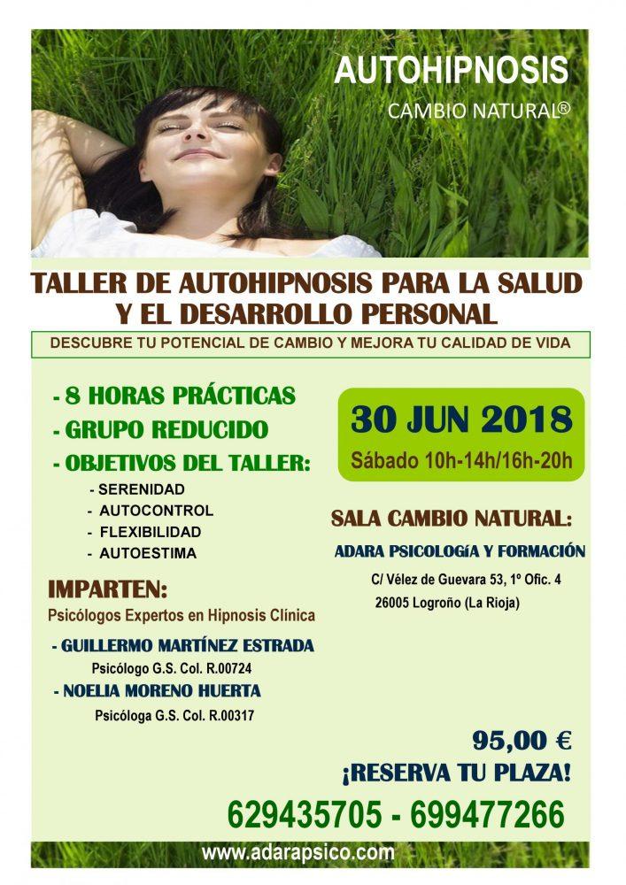 Taller: Autohipnosis para la salud y el desarrollo personal – Adara Psicología