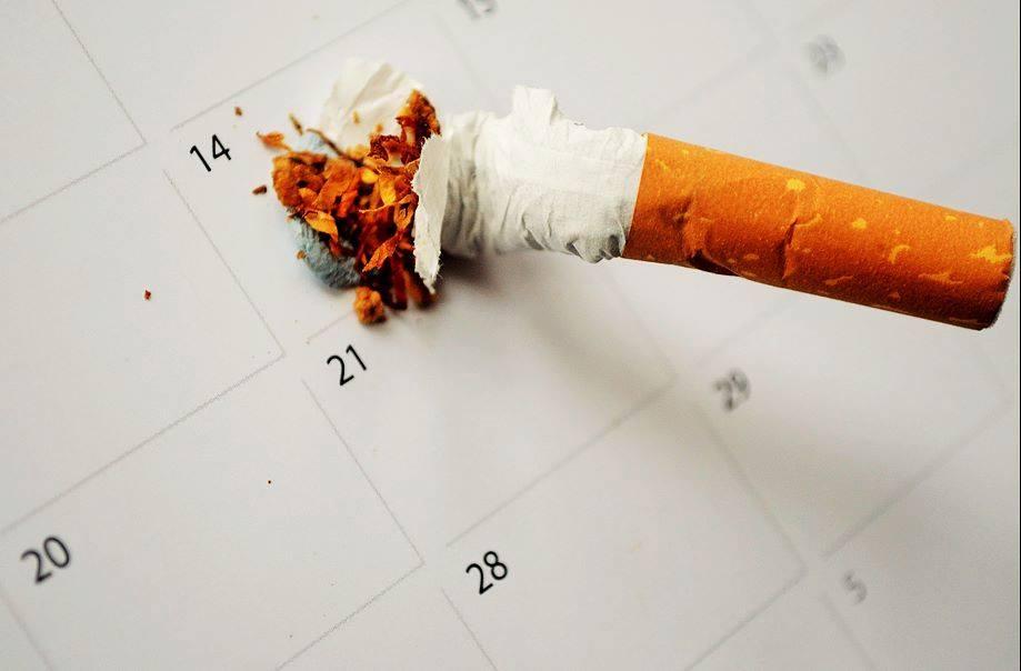 ¡No dejes de fumar en enero, febrero...!